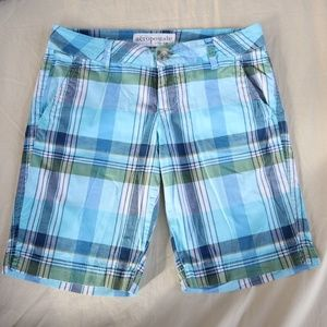 Aeropostale Low Rise Plaid Shorts 1/2